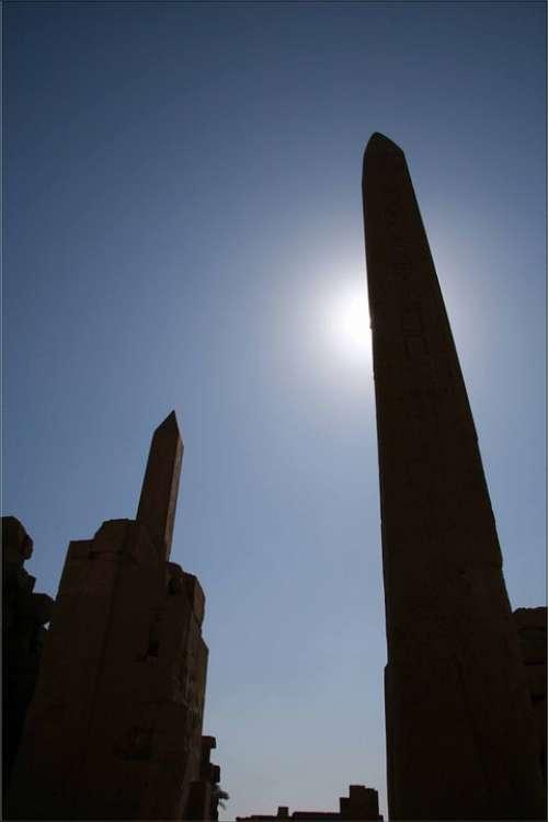Egypt Karnak Obelisk