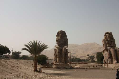 Egypt Luxor Famous Old Pharaohs Pharaonic
