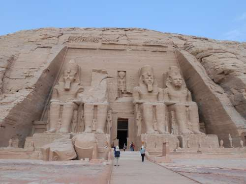 Egypt Ancient Monument Huge