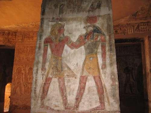 Egyptian Pharaoh Archaeology Historic Antique