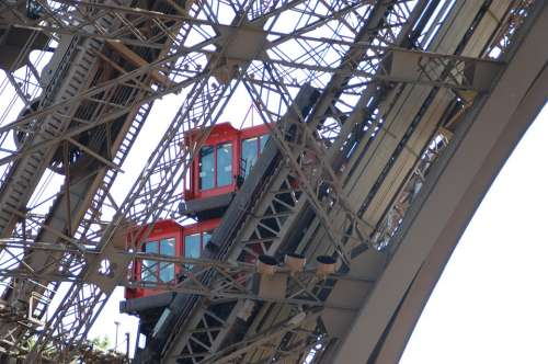 Eiffel Tower Paris Heritage Architecture Elevator