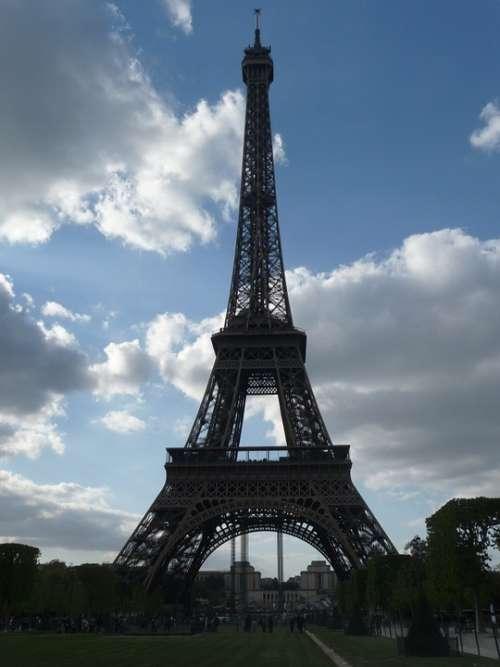 Eiffel Tower Paris France World'S Fair