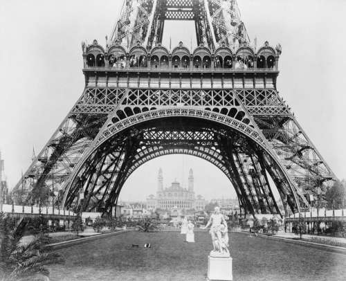 Eiffel Tower Vintage Paris Retro Europe Landmark