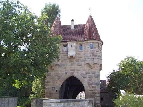 Einersheimer Gate Iphofen Franconian Wine Country