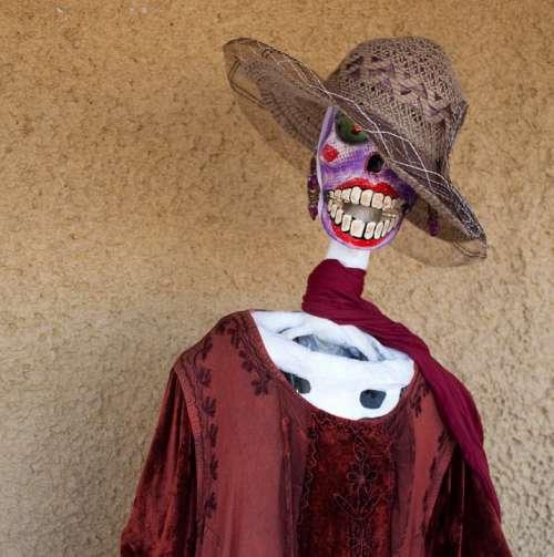 El Dia De Los Muertos Day Of The Dead Mexican