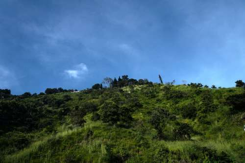 El Salvador San Marcos Mountain Sierra Hill Nature