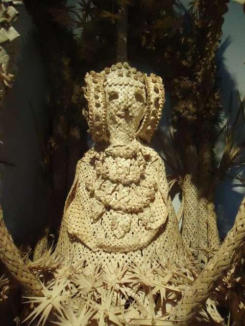 Elche Palma Palms White Tradition Crafts