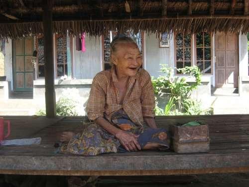Elderly Woman Age Time Female Women People Aged