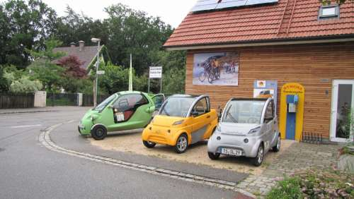 Electric Car Vehicles Small Car Auto Automotive