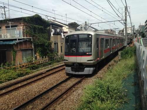 Electric Train Toyoko Lead Vehicle