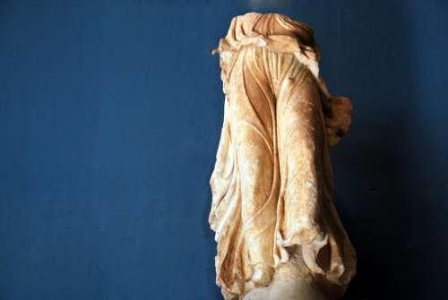Elefsis Greece Statures Old Gods Religion