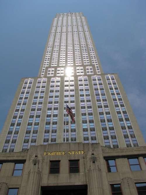 Empire State Building New York Ny Nyc New York City