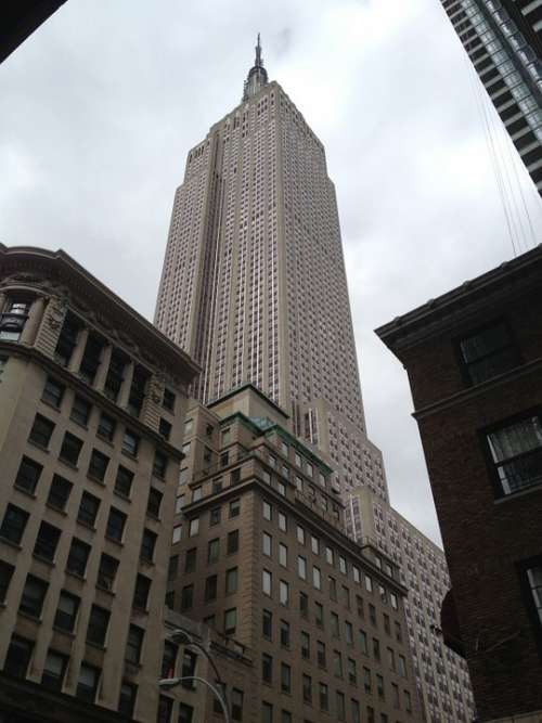 Empire State Building New York City Architecture