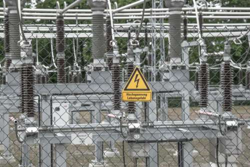 Energy Current Substation High Voltage Risk