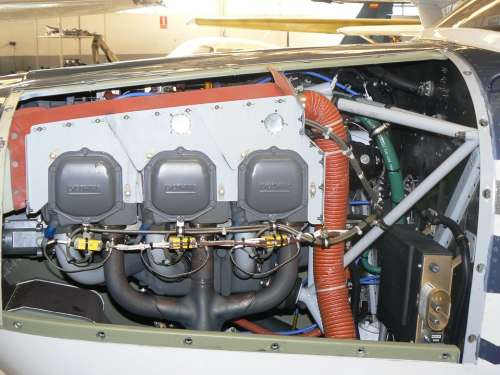 Engine Aircraft Fly