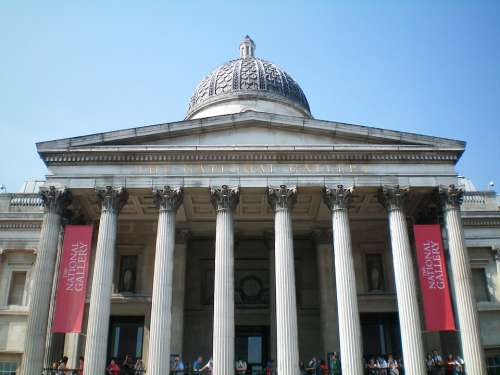 England London Building National National Gallery