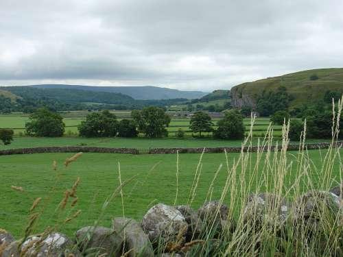 England Landscape English Landscape Trees Green
