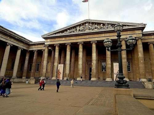 England London Museum British Entrance Front