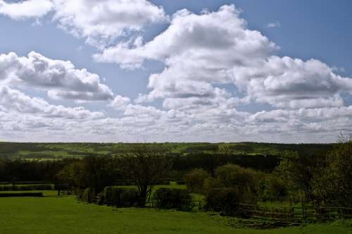England North Yorkshire Landscape Season Spring