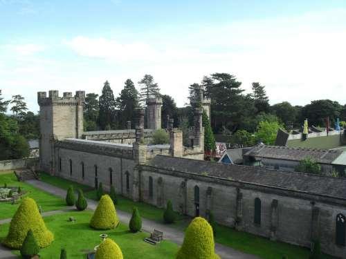 England Castle Buildings Architecture Sky Clouds