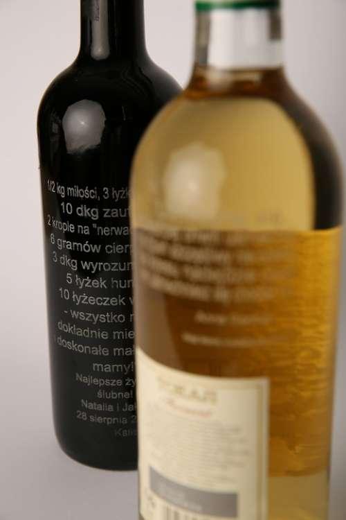 Engraving On Glass Dedications Bottle