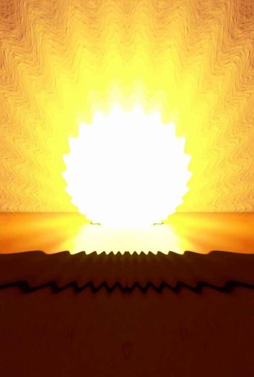 Enlightenment Shining Enlighten Sun