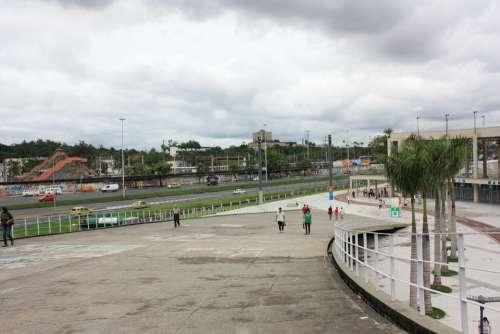Entrance To The Maracanã Stadium Brazil