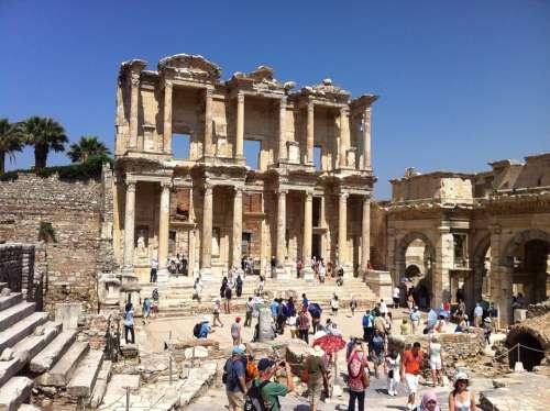Ephesus Ancient Times Turkey Historically History