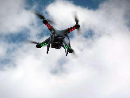 Espionage Drone Camera Spy Nsa Quadrocopter