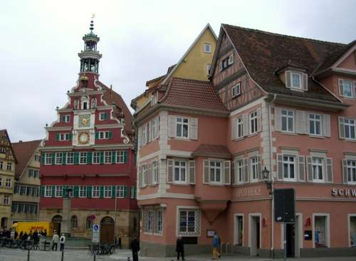Esslingen Old Town Hall Town Hall Square