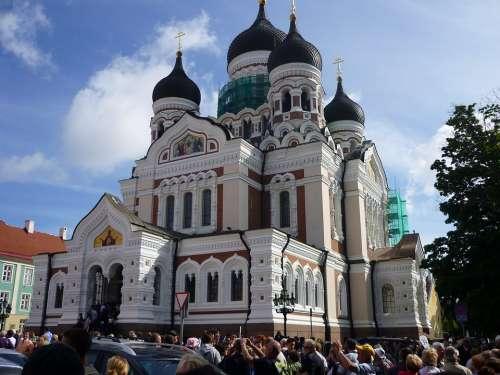 Estonia Tallinn Building Historically Church