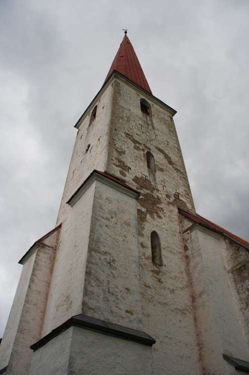 Estonia Saaremaa Kihelkonna Church