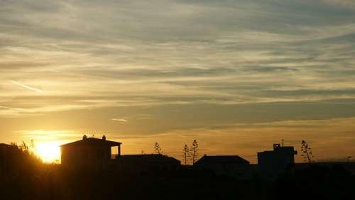 Evening Light Sunset Vacations Silent