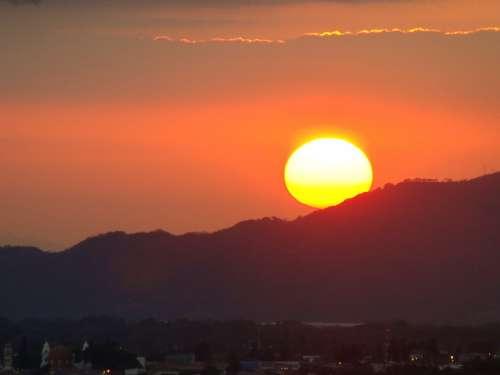 Evening Sun Sunset