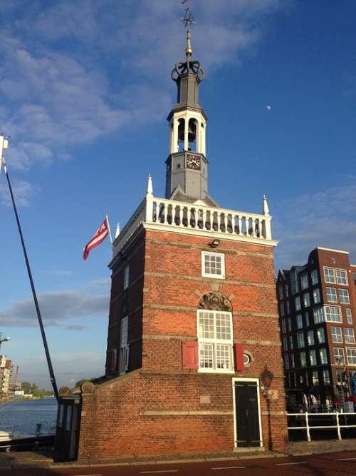 Excise Duty Tower Alkmaar Port Autority