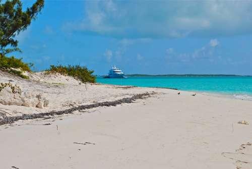 Exumas Bahamas Megayacht Yacht Yachting Boating