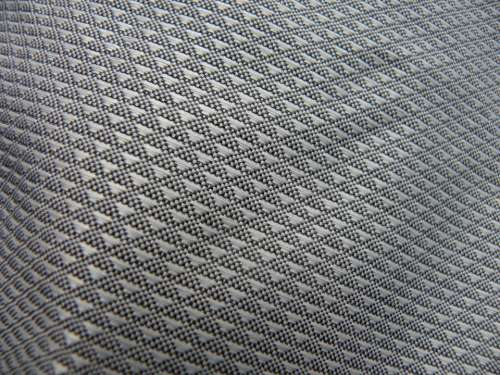 Fabric Textile Silver Grey Surface Embossing