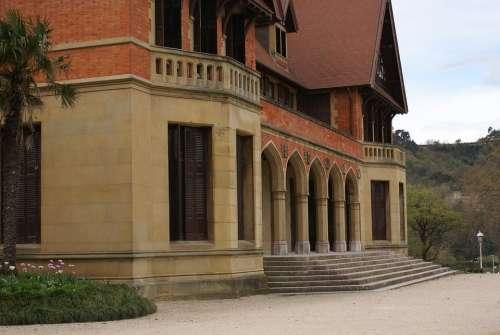 Facade Architecture Summer Palace San Sebastian