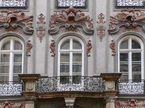 Facade Architecture Windows Front Germany Building