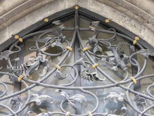 Facade Building Window Decorative Metal Work