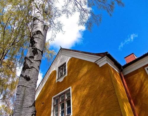 Facade Gamla Enskede Stockholm