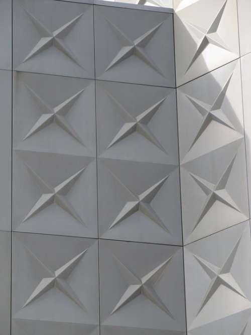 Facade Architecture Modern Exterior Geometric
