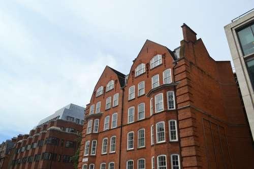 Facade Brick Architecture Building Old