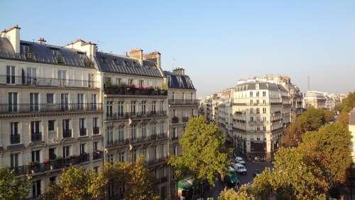 Facade Paris France