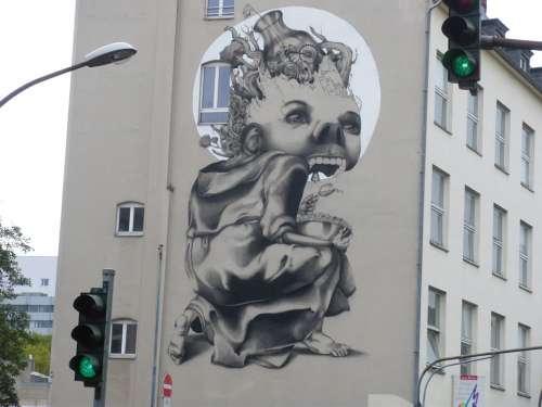 Facade Hauswand Facade Paint Art