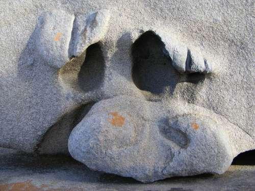 Face Sculpture Head Monument Statue Faces