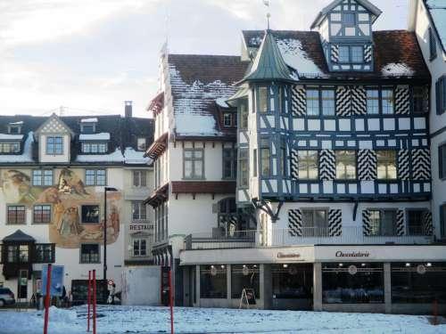 Fachwerkhaus Truss Historic Center Architecture