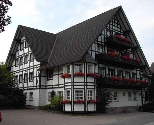 Fachwerkhaus House Truss Old