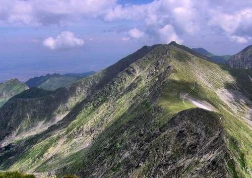 Fagaras Mountains Transylvania