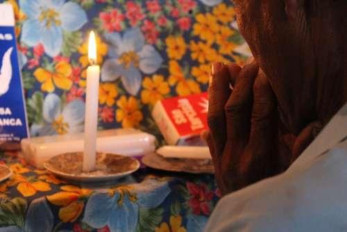 Faith Devotion Hand